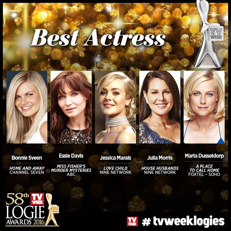 Full list of 2016 TV WEEK Logies nominees :: TV WEEK