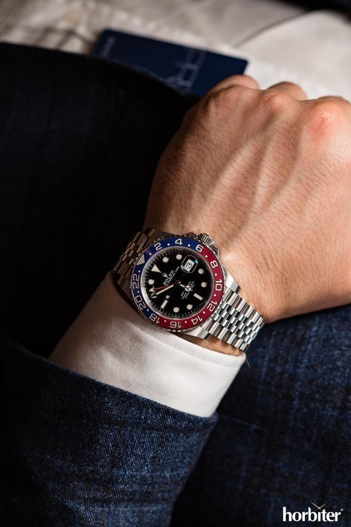 Rolex Gmt Master Ii Pepsi 126710 Blro Horbiter Rolex Watches Rolex Gmt Rolex Gmt Master