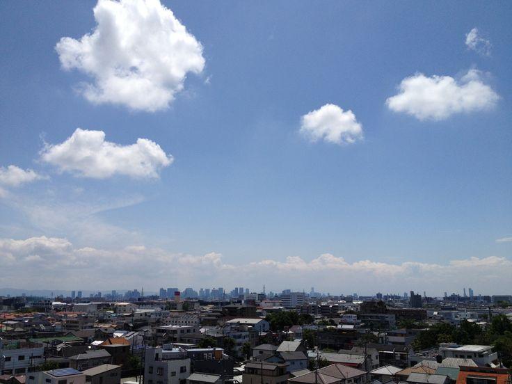2014.6.8 初夏の暑い空