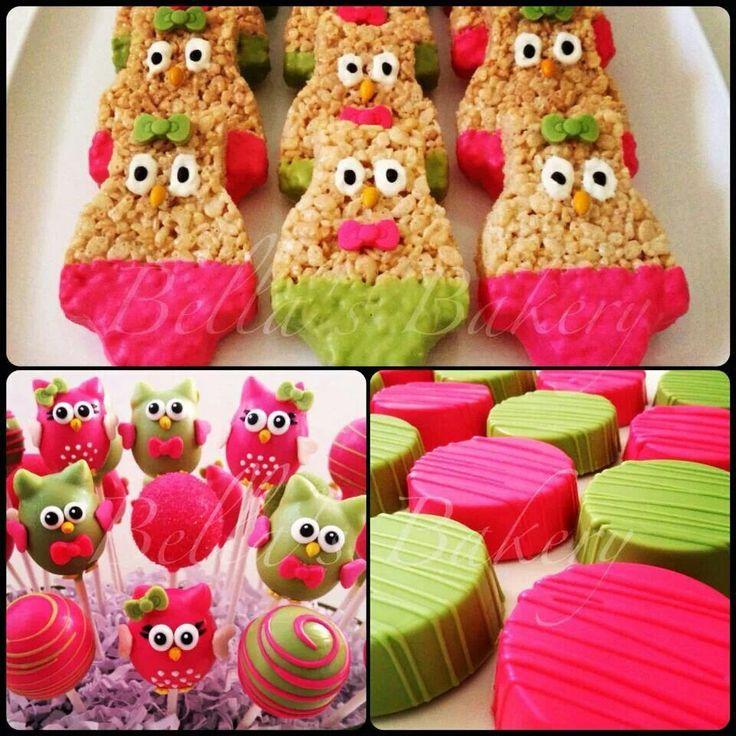 Owl dessert