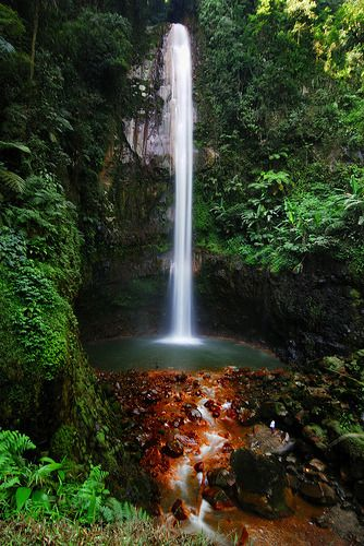 Curug Seribu Waterfall, Bogor, West Java, Indonesia.  (by hyperfocalS)