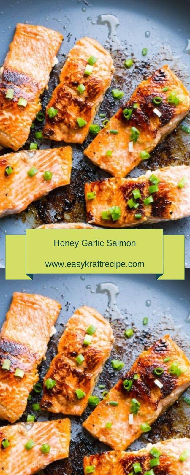 Honey Garlic Salmon Christmas Dinner Easy Kraft Recipes