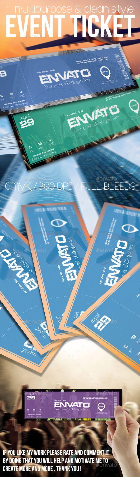 best ideas about event tickets ticket design multipurpose event ticket