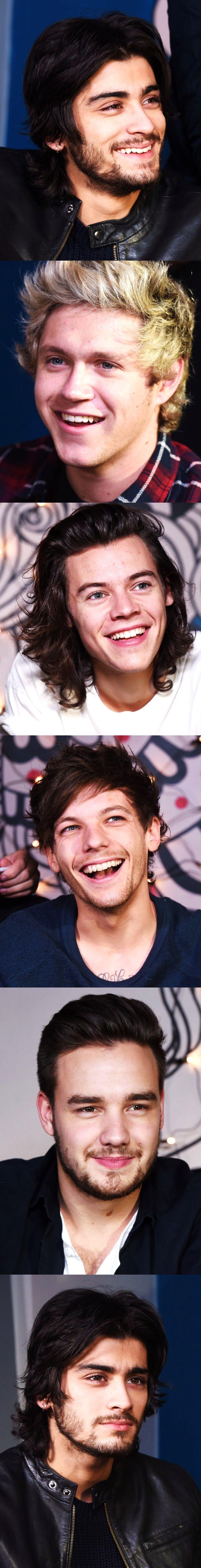 One Direction / Zayn Malik / Liam Payne / Niall Horan / Louis Tomlinson / Harry Styles