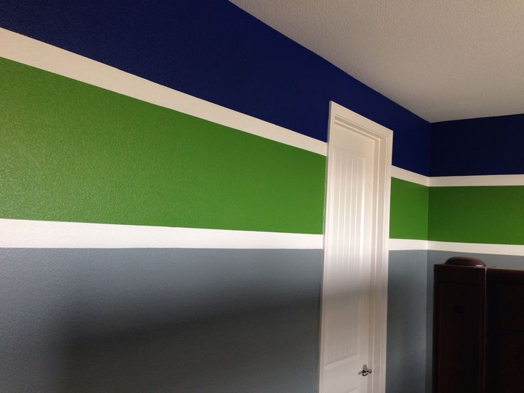 Boy room paint colors striped