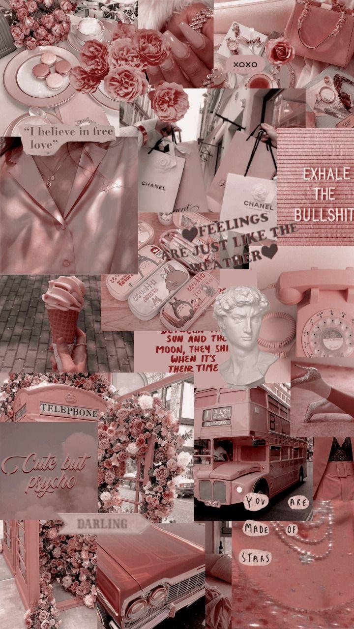 Aesthetic Collage Lockscreen Wallpaper Em 2020 Ideias De Papel
