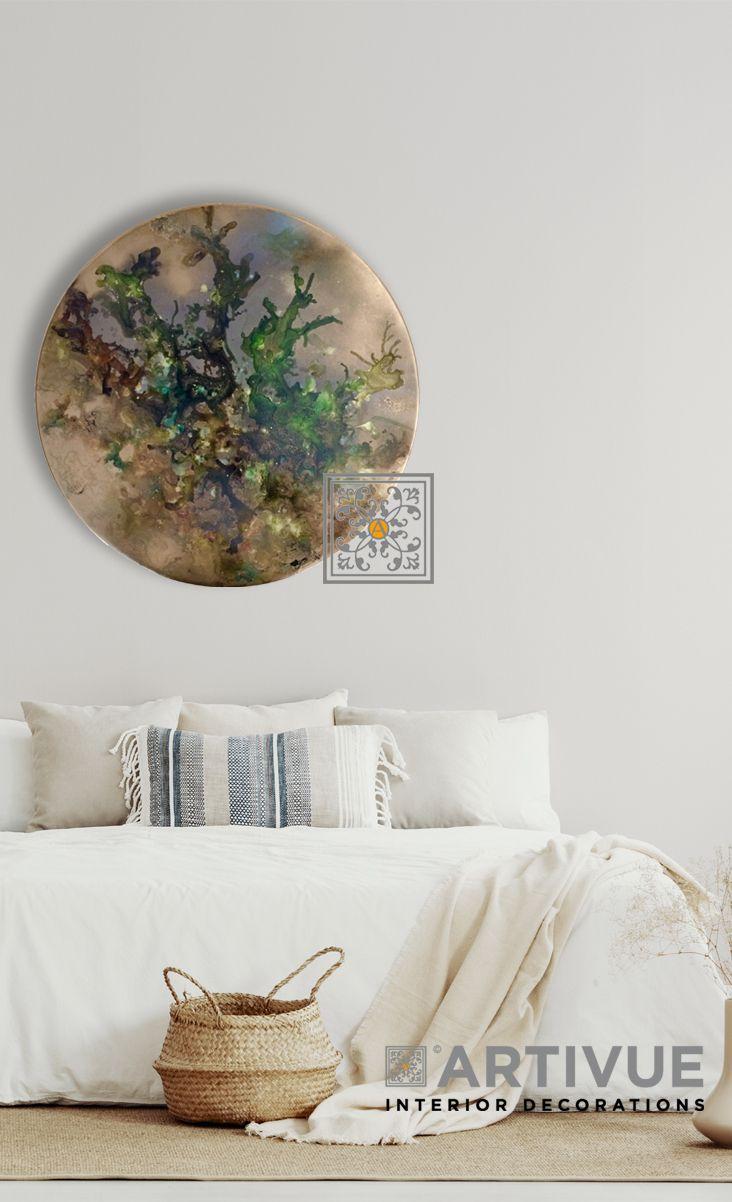 Muurdecoratie In De Slaapkamer Wanddecoraties Abstracte Schilderijen Slaapkamer