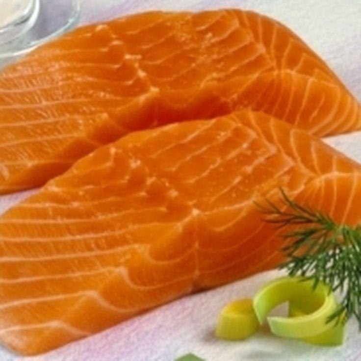 Maple mustard salmon with marinated leeks recipe on Food52