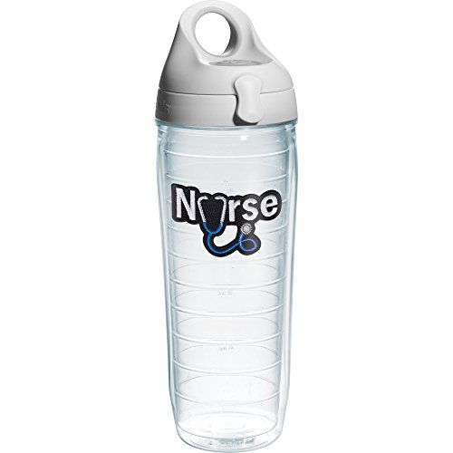 Tervis Nurse Stethoscope Water Bottle with Lid 24 oz Clear >>> Click image for more details.Note:It is affiliate link to Amazon.