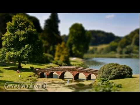 ▶ (HD) Fake miniature model, tilt & shift lens effect - Photoshop Week 36 - YouTube