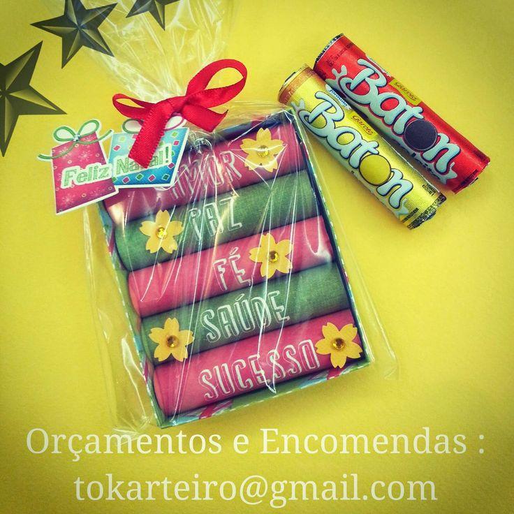 Tok Arteiro: Lembrancinha de Natal - para presentear amigos, familiares e colegas de trabalho