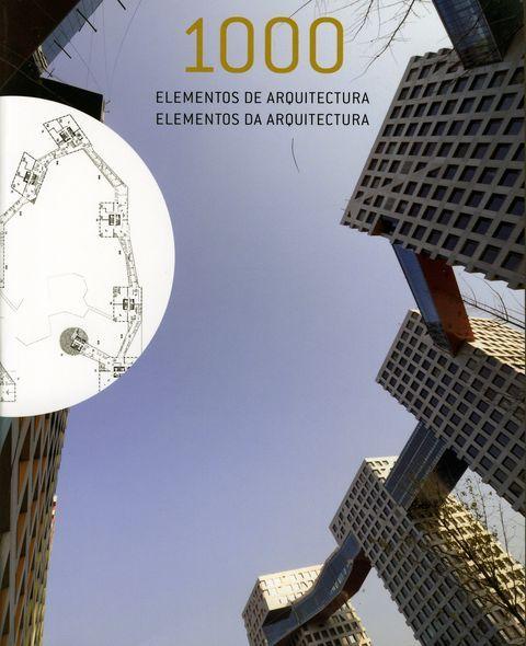 1000 ELEMENTOS DE #ARQUITECTURA VV.AA - #Ilusbooks