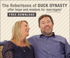 FREE download -- Al and Lisa Robertson share how God redeemed their marriage, carrying them through the pain of adultery and betrayal to a whole and healed relationship.