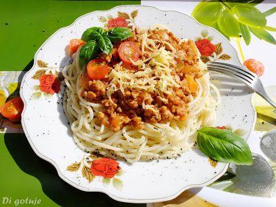 Di gotuje: Spaghetti bolognese (na szybko)