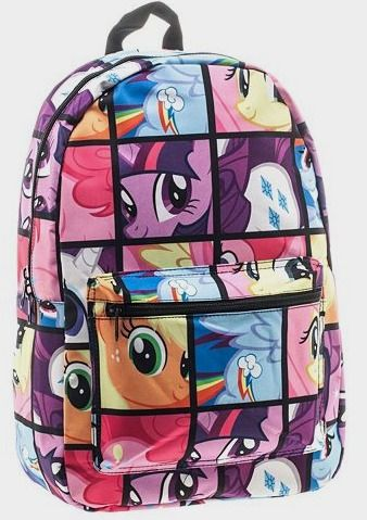 Hasbro My Little Pony Patterned Backpack