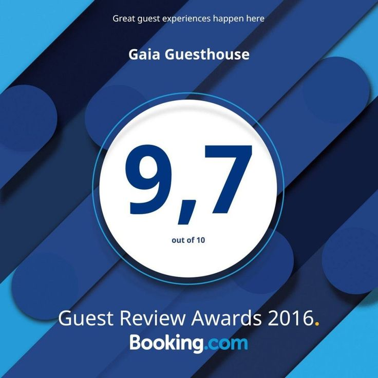 Thanks to all our Booking.comguests for the great review scores! We feel awesome for the love you share!!