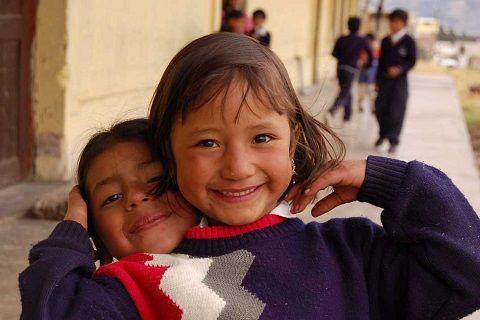 Volontariato internazionale in Perù, presso Aldea Yanapay, un'associazione che organizza attività per i bambini svantaggiati di Cusco.