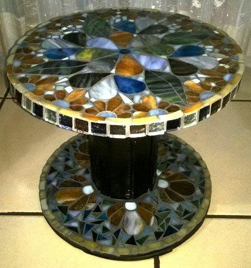114 mejores im genes sobre carretes en pinterest - Mosaico de madera ...