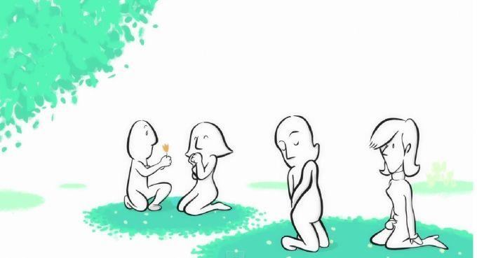 Spiegare l'amore senza parole