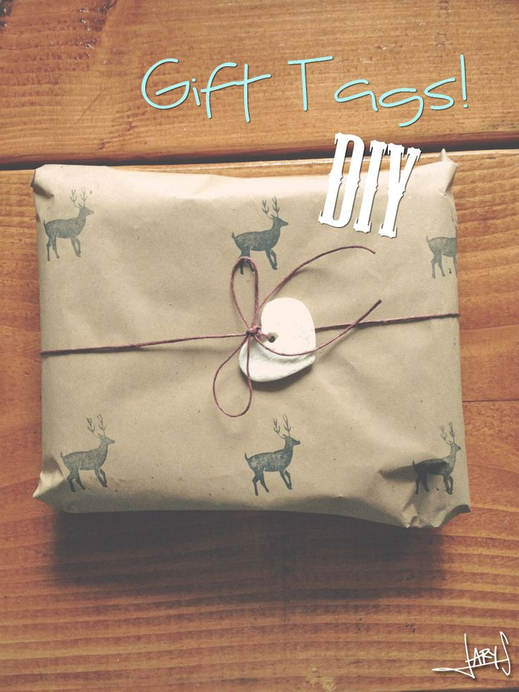 {Salt dough} Gift tags DIY