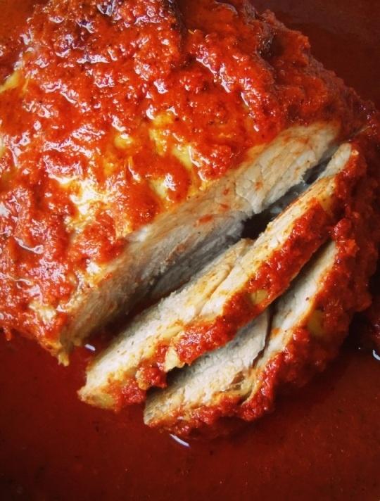 Pierna de Puerco al Horno (Roast Pork) HispanicKitchen.com