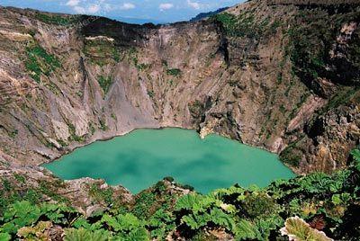 Volcano Irazu, Costs Rica