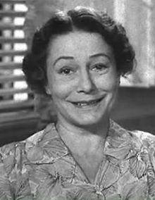 Thelma Ritter from the trailer for The Mating Season (1951)  Born	February 14, 1902  Brooklyn, New York, U.S.  Died	February 5, 1969 (aged 66)  New York City, New York, U.S. of a heart attack