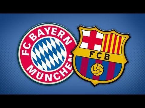Barcelona x Bayern de Munique 2