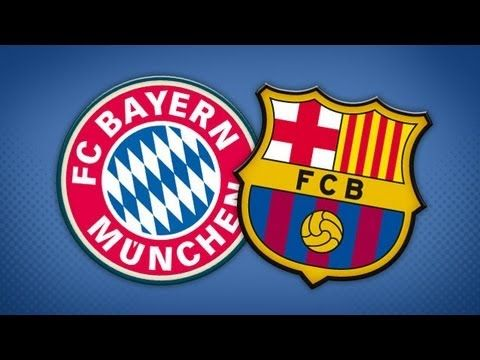 Barcelona x Bayern de Munique 2