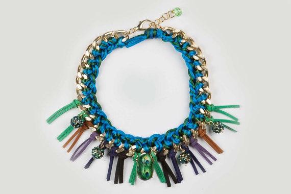 Necklace Pavo