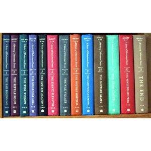 A Series of Unfortunate Events, by Lemony Snicket