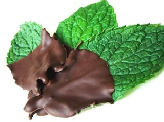 Chocolate Covered Mint Leaves Recipe looks good