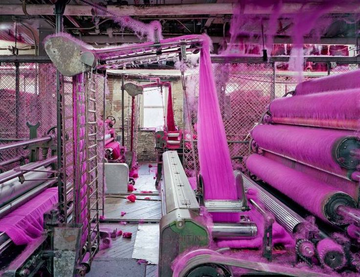 Unexpected Beauty Hiding inside America's Last Fabric Factories...wonderful article and photos
