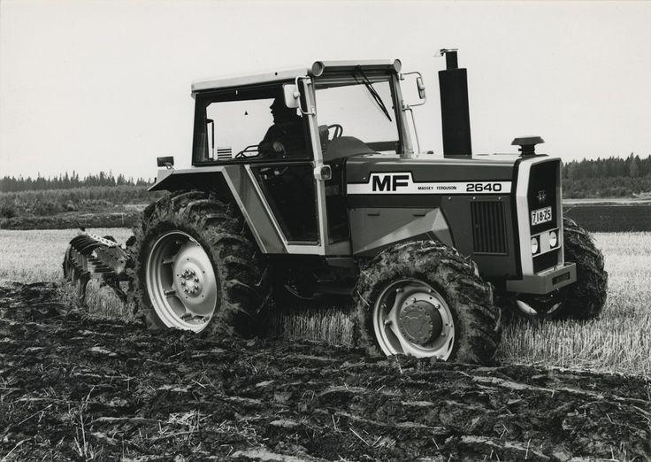 Massey-Ferguson 2640 #MasseyFerguson #traktori #tractor  Hankkijan arkisto