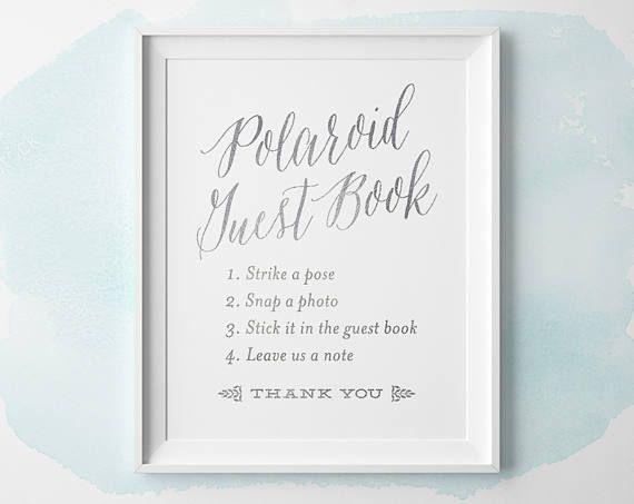 Best 25 Wedding Planner Book Ideas On Pinterest: 25+ Best Ideas About Polaroid Guest Books On Pinterest
