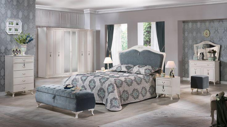 Belissa Yatak Odası Takımı - Bellona Mobilya