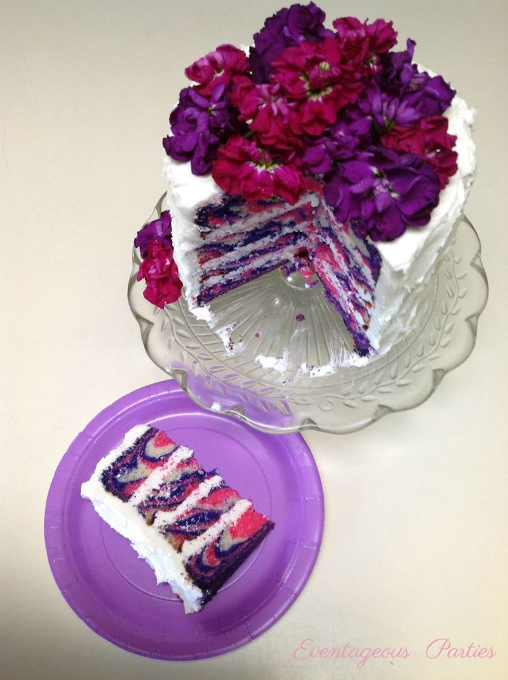 Striped Tea Party Cake Tutorial I want the top layer of my wedding cake to be th