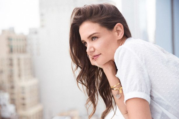 Katie Holmes chats beauty with Into The Gloss