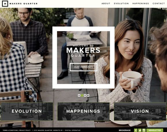19 Inspiring Examples of Text Over Images in Web Design | Inspiration