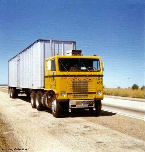 171 best Ford cabover trucks images on Pinterest | Ford trucks ...