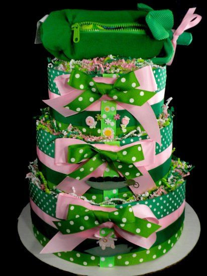 Sweet Pea Diaper Cake Sweet Pea Baby Shower Pinterest
