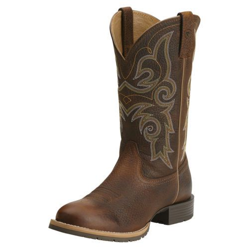 Manufacturer: Ariat Style#: 10014161 Description: The Hybrid Rancher delivers superior comfort and performance for every modern ranching need; from gathering on the ATV to hopping on and off the feed