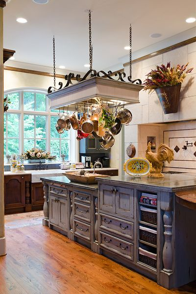 country french home | Luxurious French Country Home, Interior Design by Cabell…