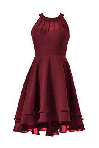 DaisyFormals High-Low Short Bridal Party Formal Bridesmaid Dress(CST2225)- Dark Scarlet DaisyFormals http://www.amazon.com/dp/B00Q664436/ref=cm_sw_r_pi_dp_PTSKvb1GKGF66