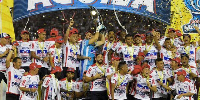 Junior campeón de la Copa Águila 2017