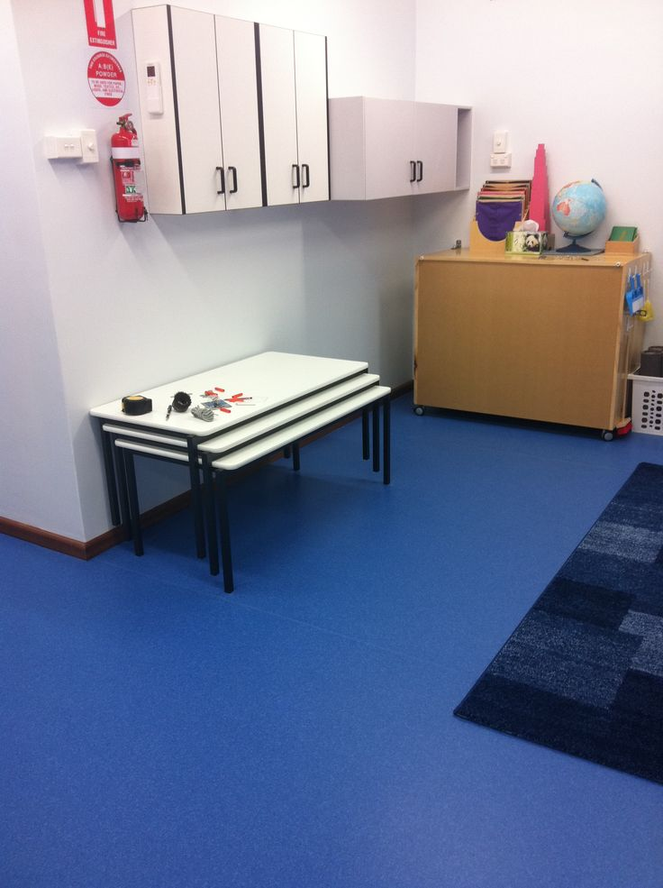 vinyl flooring - great for child care centre