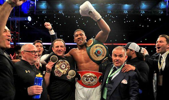 Anthony Joshua beats Wladimir Kiltschko in stunning knockout victory at Wembley