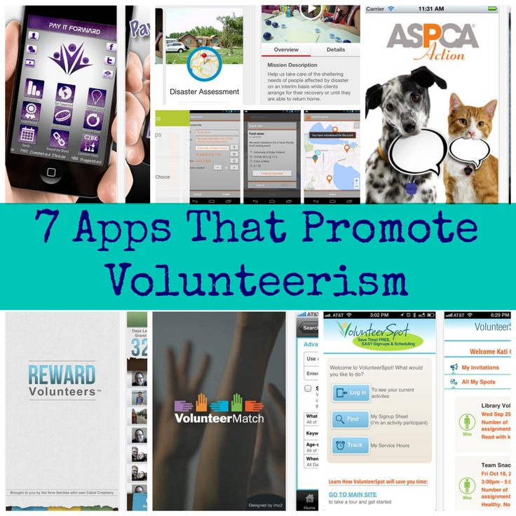 How are you planning on giving back - 7 apps that promote volunteerism
