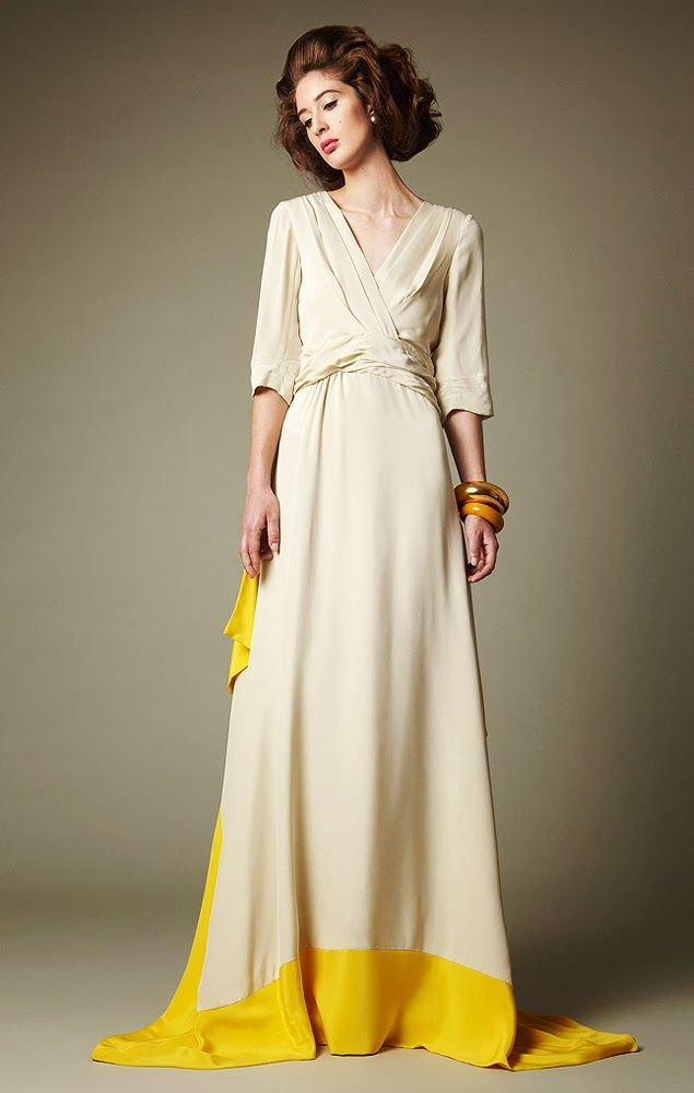 Trendy Wedding, blog idées et inspirations mariage ♥ French Wedding Blog: {la robe du jour} la touche fluo de Chris Benz