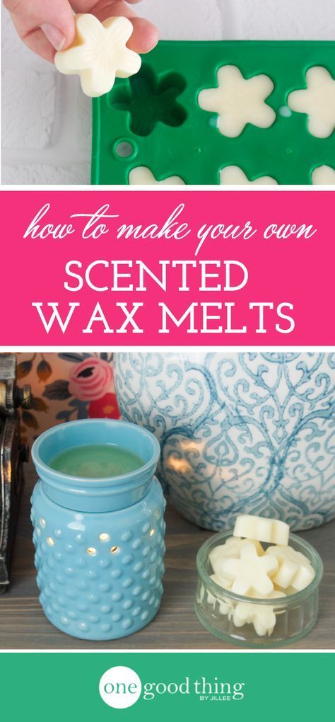 Learn how easy it is to make your own scented wax melts using all-natural ingredients like essential oils. Your whole home will smell amazing!